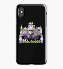 Is This Small World Actually Stretching? (for Darker Rides) iPhone Case/Skin