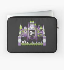 Is This Small World Actually Stretching? (for Darker Rides) Laptop Sleeve