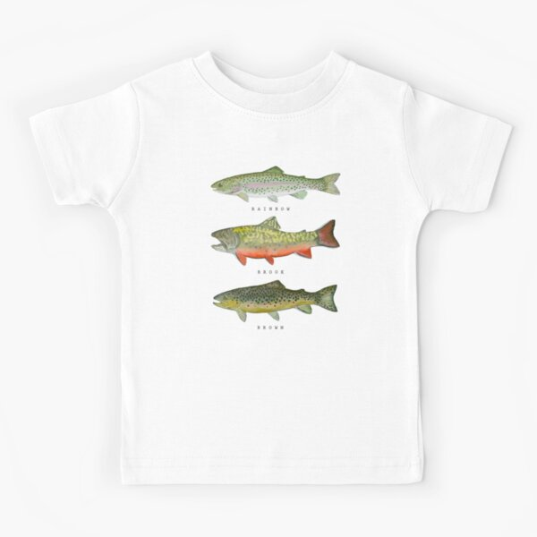 Trout Triad Kids T-Shirt
