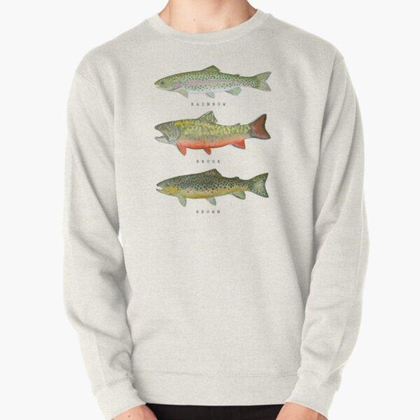 Trout Triad Pullover Sweatshirt