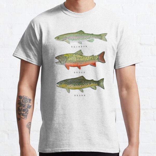 Triade de truite T-shirt classique