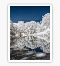 Lake Reflections - Infrared Sticker