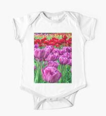 Tulip Field One Piece - Short Sleeve
