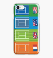 Country Emoji Grand Slam Courts iPhone Case/Skin