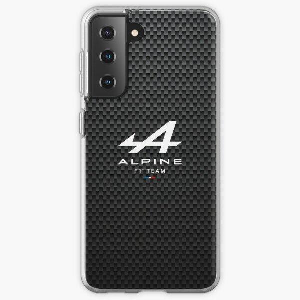 Alpine F1 team Carbon Samsung Galaxy Soft Case