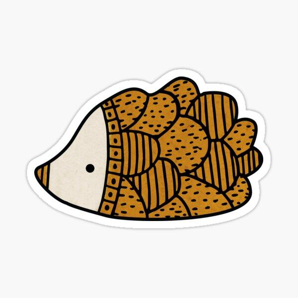 Adorable Hedgehog Sticker