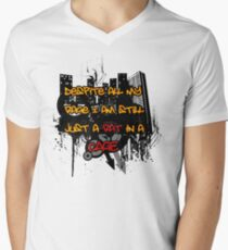 9df29b5ce11d79 The Smashing Pumpkins - Bullet With Butterfly Wings Men s V-Neck T-Shirt