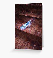 Aschenputtels kleiner Glasschuh Grußkarte