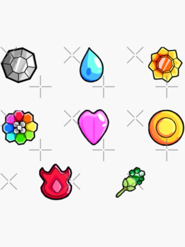 Pokemon Gym Abzeichen: Kanto von Broseidon13