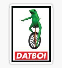 Obey Dat Boi Sticker