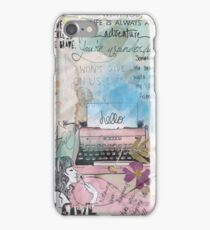 The Thoughts of a Lonely Girl  iPhone Case/Skin