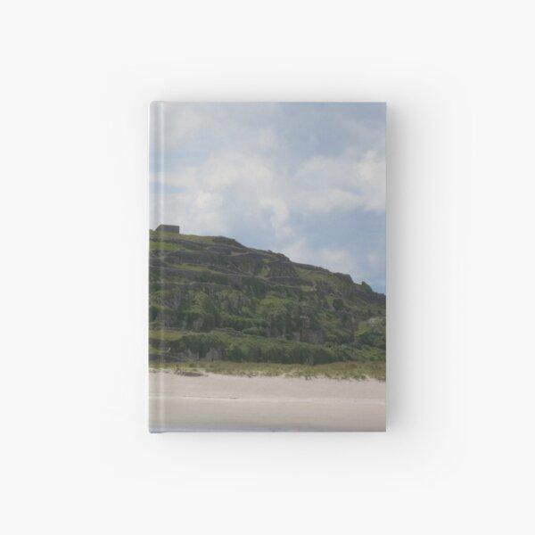 Castle ruins Aran Islands Hardcover Journal