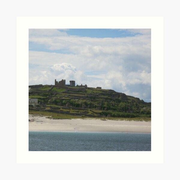 Castle ruins Aran Islands Art Print