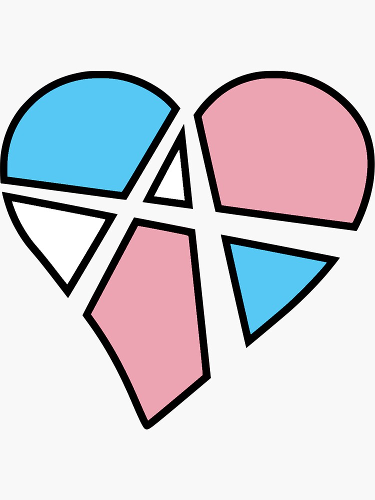 Transgender Relationship Anarchy Heart (Black) by polyphiliashop