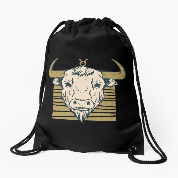 Taurus Zodiac sign -  Star sign tees.  Drawstring Bag