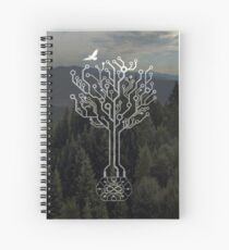 Forest and Spirit of the Commander Spiral Notebook