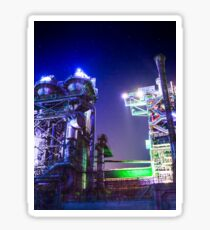 Industrial HDR photography - Steel Plant 2 Sticker