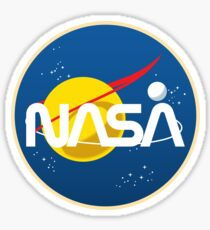 Pegatina Retro NASA