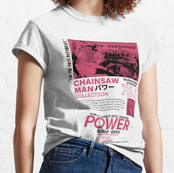 Chainsaw Man Power Devil Streetwear Classic T-Shirt