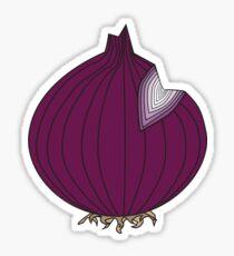 Red Onion Sticker