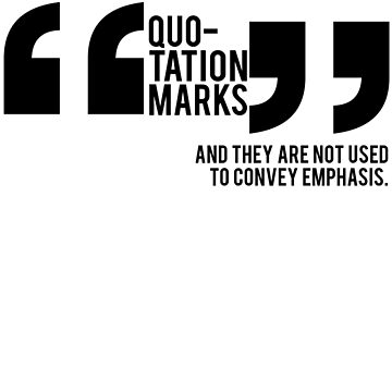 Quotation Marks by crippledvulture