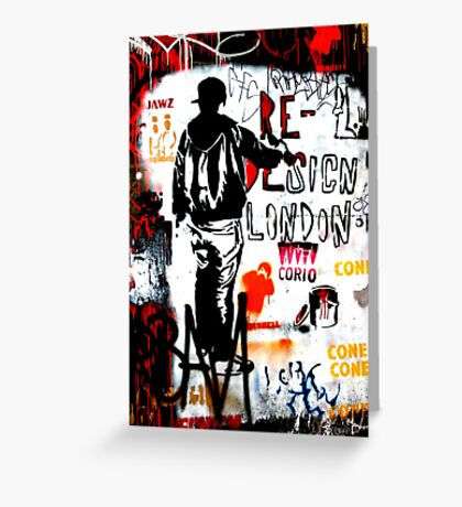 Redesign London - Banksy Greeting Card