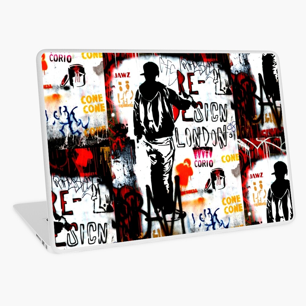 Redesign London - Banksy Laptop Skin