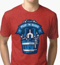 Team Pup N Suds Tri-blend T-Shirt