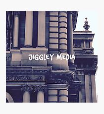 Jiggley Media (New!) Photographic Print