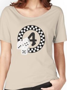 Bunco Dices - Table No Four VRS2 Women's Relaxed Fit T-Shirt