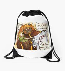 Ganondorf gets a very thoughtful gift Drawstring Bag