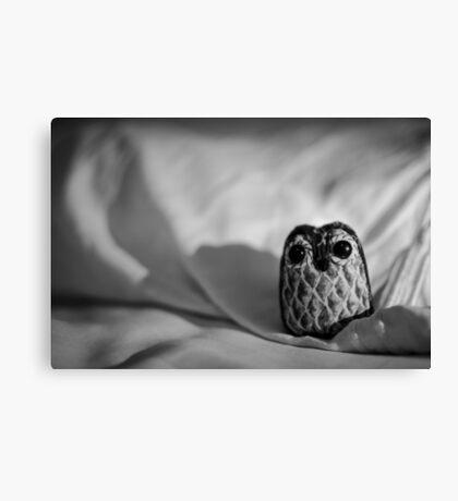 Unintentional Night Owl - The Flightless Fowl Canvas Print