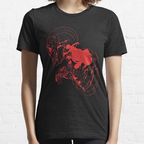 Ninja Skull (Opción 03 Brick Red) Camiseta esencial