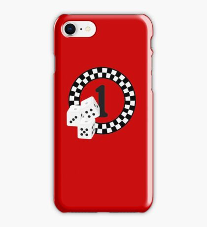 Bunco Dices - Table No One VRS2 iPhone Case/Skin