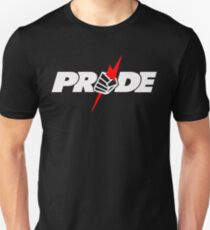 pride, fighting, ufc, ultimate fighting championship, champion, symbol, fighter, ko, tko, round. T-Shirt