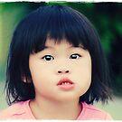 Shy Little Girl by Larissa Brea
