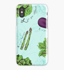 Alphabet Vegetables iPhone Case/Skin
