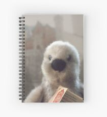 Oslo the Penguin Spiral Notebook
