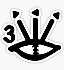 TDE Hiii Power Eye - Kendrick Lamar Sticker