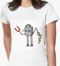 RoboCat Women's Fitted T-Shirt