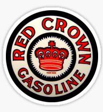 red Crown Gasoline Sticker