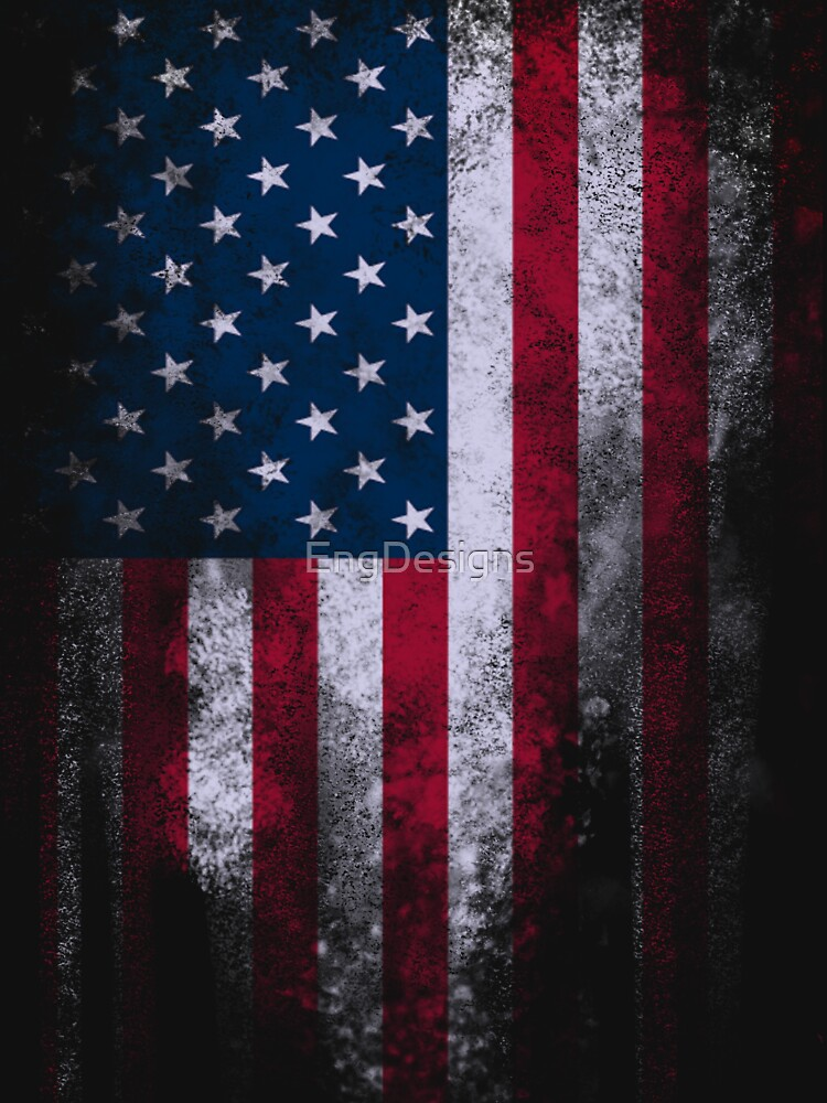 USA America Flag by EngDesigns