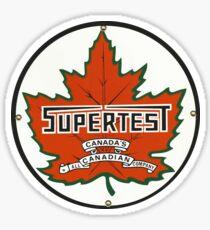 Supertest motor oil - Canada Sticker