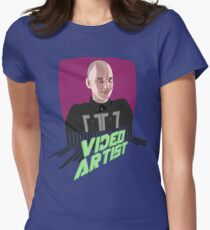 Knox Harrington, The Video Artist Womens Fitted T-Shirt