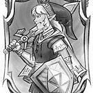 Gerudo Princess Link by Figment Forms