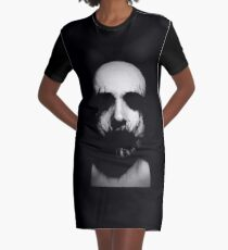 See No Evil Graphic T-Shirt Dress