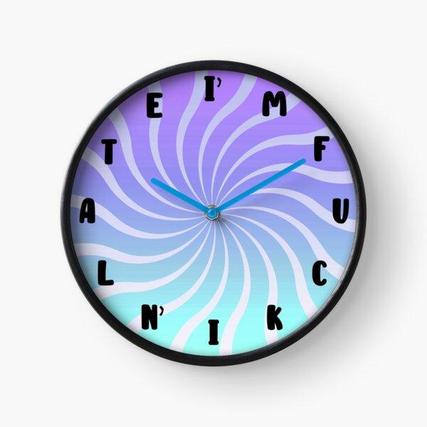 I'm Fucking Late Clock Clock