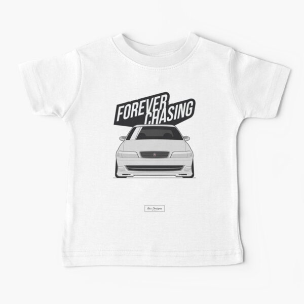 Forever Chasing [Toyota Chaser JZX100] Baby T-Shirt