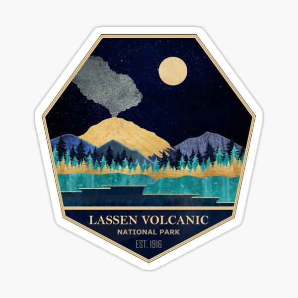 Lassen Volcanic National Park - America the Beautiful Sticker