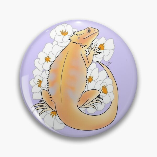 Lilac Bearded Dragon Pin